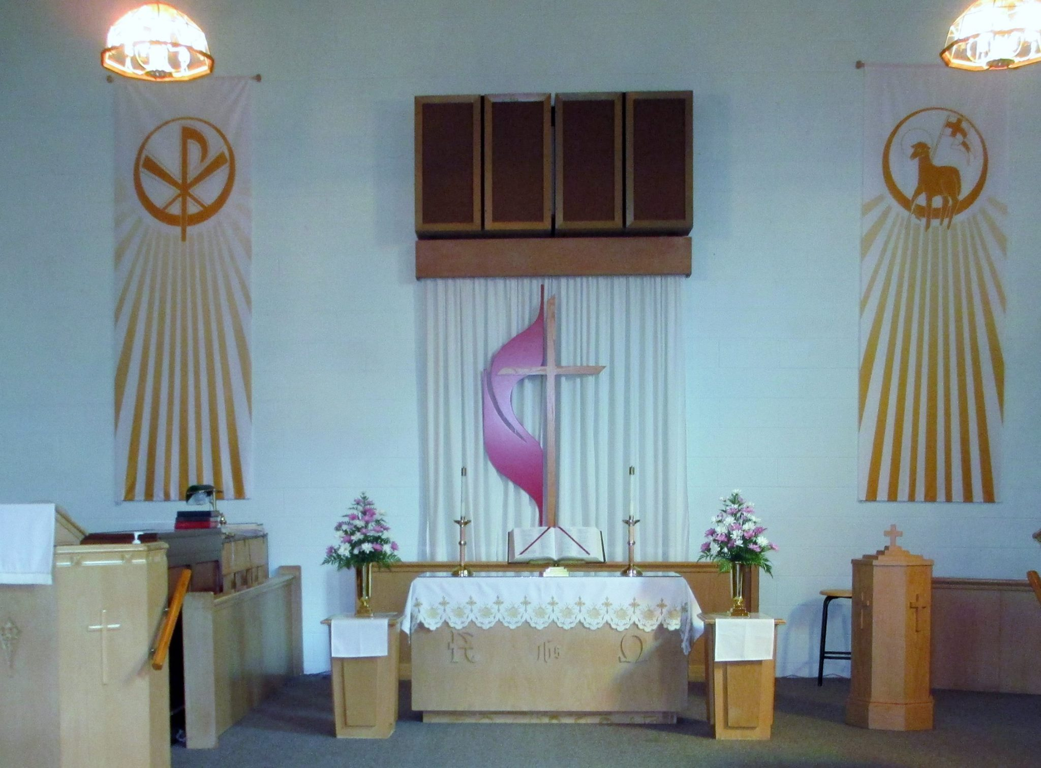 Inside of Cedar Lake United Methodist Church